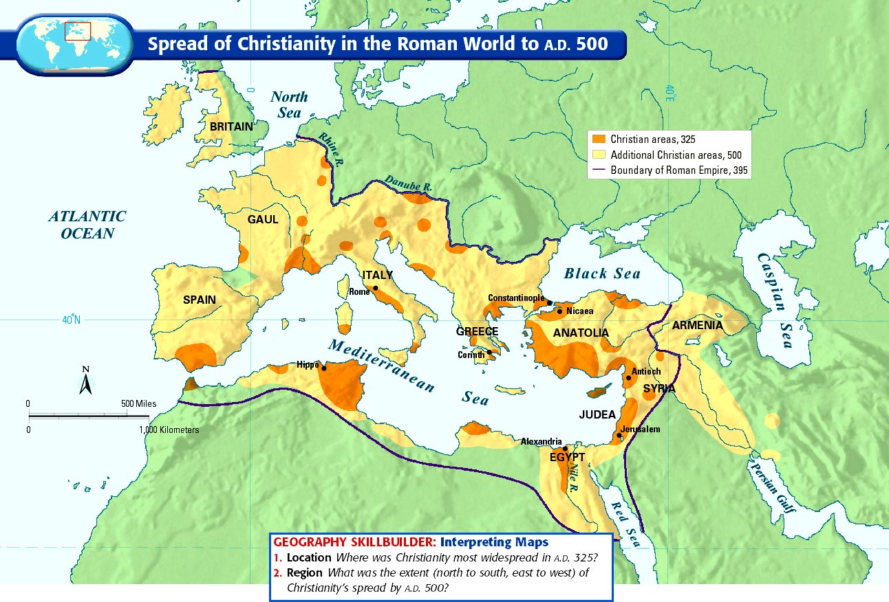 an overview of the spread of christianity in the graeco roman world Christianity in the greco-roman world and over one million other books are   engaging and helpful introduction to the wider world of the earliest christians that   make the story of the spread of christianity much more 'engaging, interesting,.